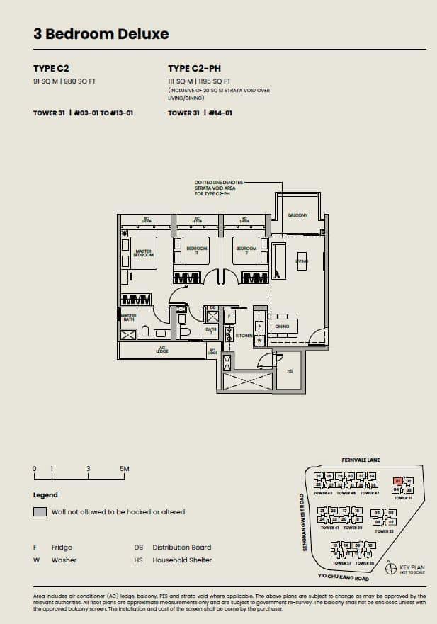 Parc-Greenwich-Floor-Plan-3-Bedroom-Deluxe-type-C2