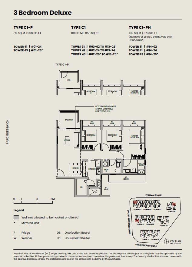 Parc-Greenwich-Floor-Plan-3-Bedroom-Deluxe