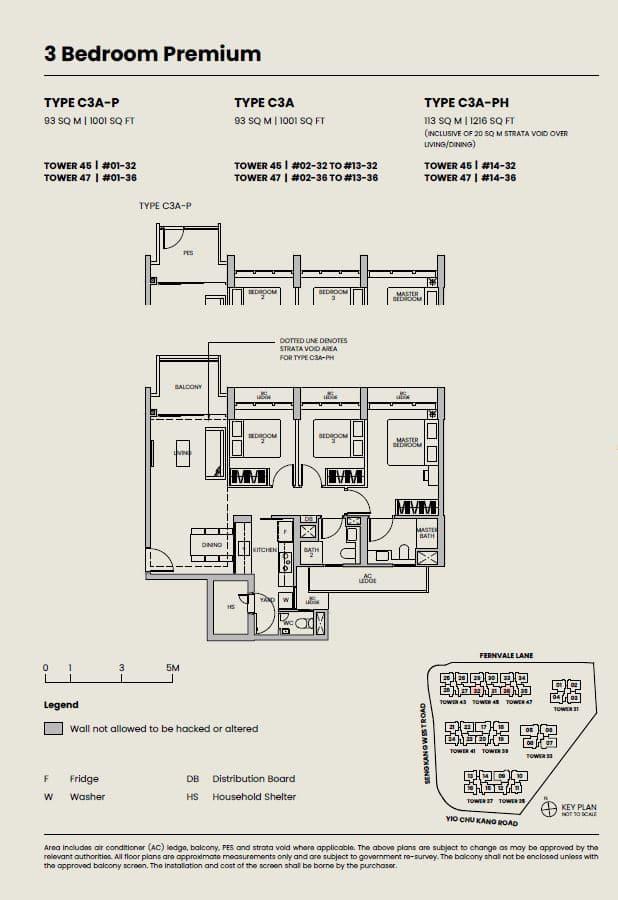 Parc-Greenwich-Floor-Plan-3-Bedroom-Premium-type-C3A
