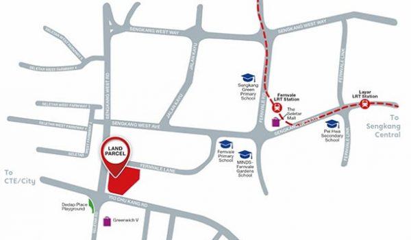 parc greenwich ec location map singapore